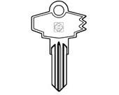 AW1  Key Blank