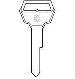 FO15  Key Blank