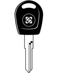 HU49T10X Transponder Key Blank