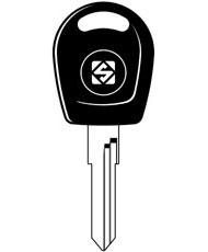 HU49T5 Transponder Key Blank