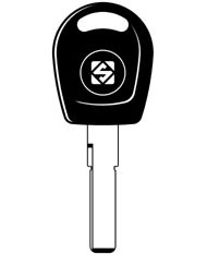 HU66T10 Transponder Key Blank