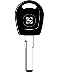HU66T5 Transponder Key Blank