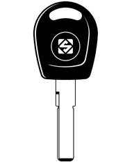 HU66T6 Transponder Key Blank