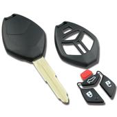 Silca MIT11 Mitsubishi 4 Button Replacement Key Shell MIT11RRS7