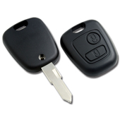 Silca NE73 Peugeot 2 Button Replacement Key Shell NE73RS2