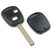 Silca TOY40 Toyota Lexus 2 Button Replacement Key Shell TOY40BRS2