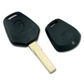 Silca HU66 Porsche 1 Button Replacement Key Shell HU66RS1