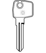 LF33 Key Blank