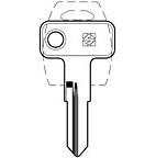 MER34R Key Blank