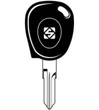 VAC102T1 Transponder Key Blank