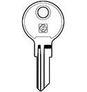 YA18 Key Blank