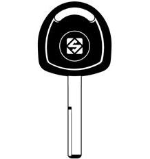 YM27T2 Transponder Key Blank